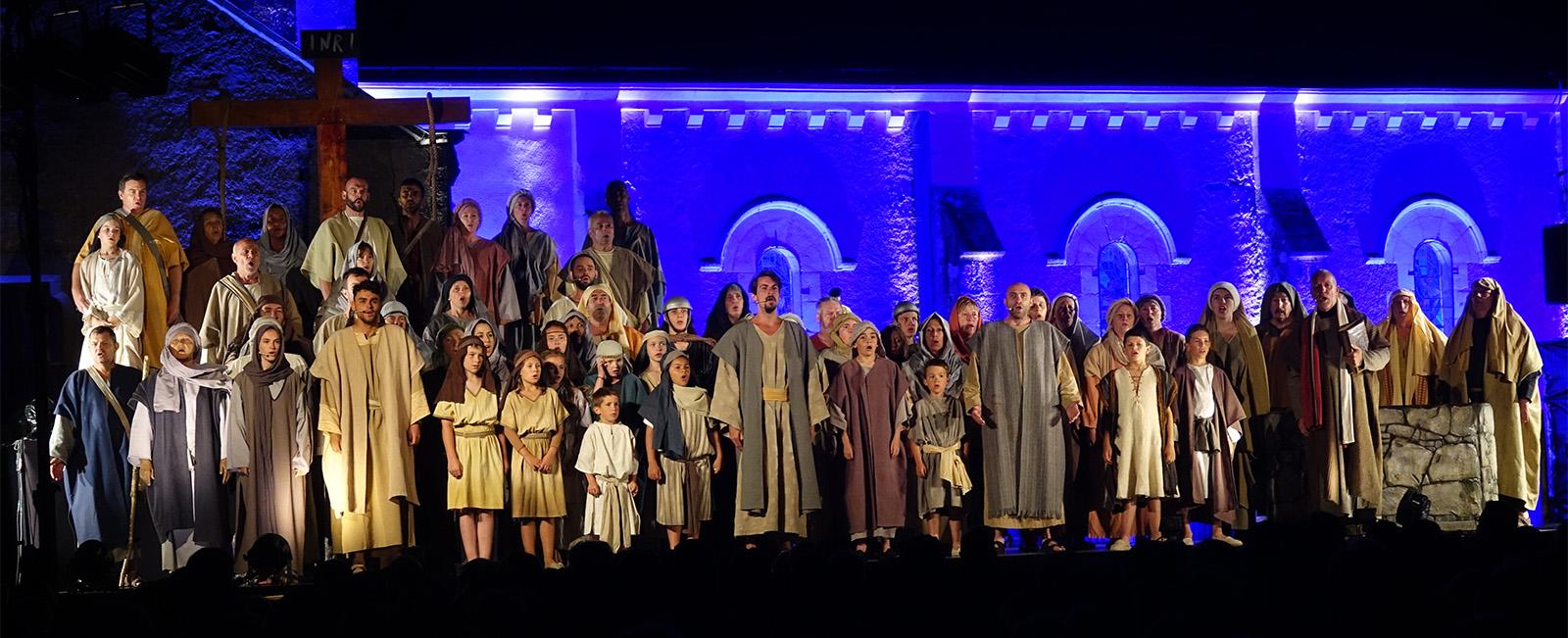 Jésus de Nazareth 2000 ans d'amour – Le spectacle musical, du 21 au 23 juin 2019 à Treize-Septiers (85)