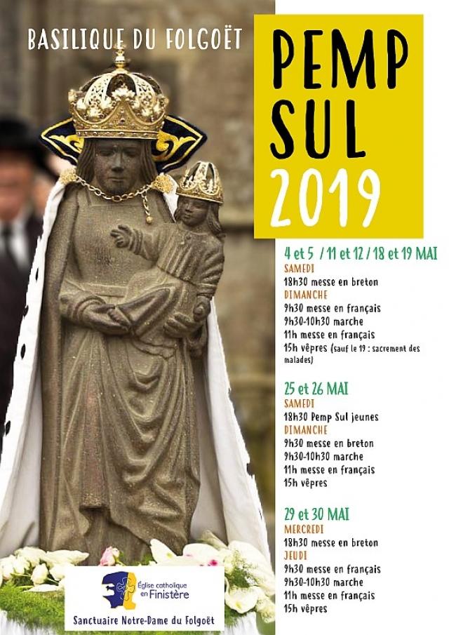 Pemp Sul 2019 les 25, 26, 29 & 30 mai 2019 à la Basilique du Folgoët (29)