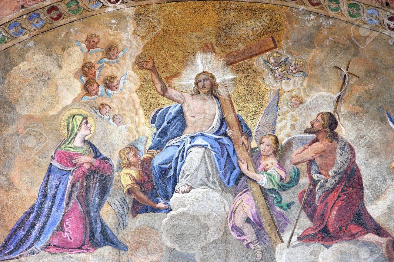 L'Ascension pour les Pères de l'Eglise:  retour triomphal au ciel du Christ ressuscité, avec son corps charnel