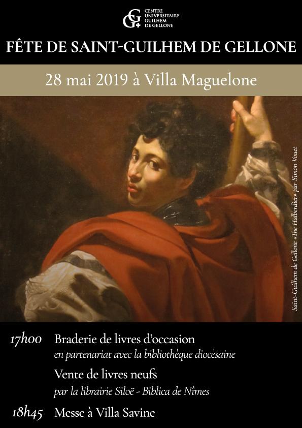Fête de Saint-Guilhem de Gellone le 28 mai 2019 à Montpellier (34)
