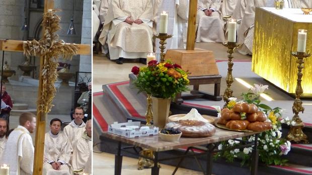 Messe de l'Oeuvre du Blé eucharistique le 22 mai 2019 à Rouen (76)