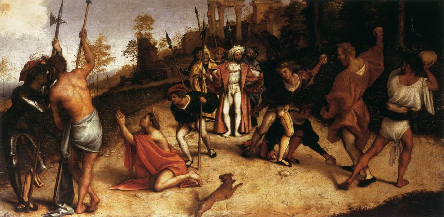 Etienne Prototype du martyr.