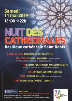 La Nuit des cathédrales le 11 mai 2019 à Saint-Denis (93)