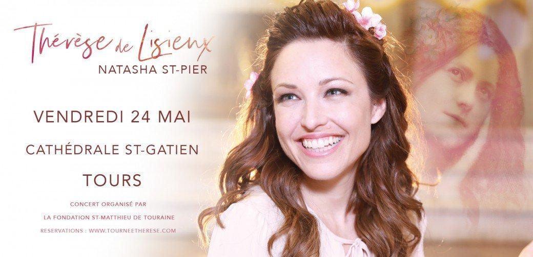 Concert de Natasha St-Pier le 24 mai 2019 à Tours (37)