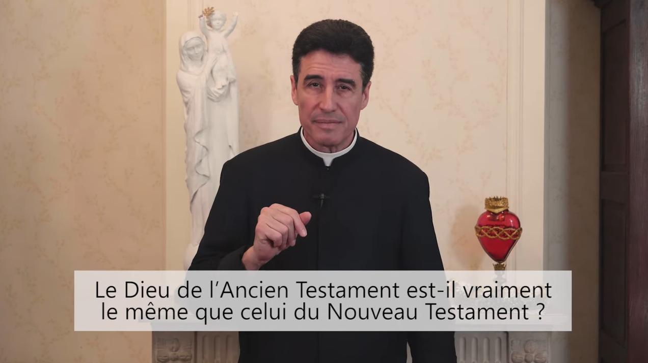 Deux minutes pour vous #59 – Père Michel-Marie Zanotti-Sorkine – «Le Dieu de l'Ancien Testament est-il vraiment le même que celui du Nouveau Testament?»