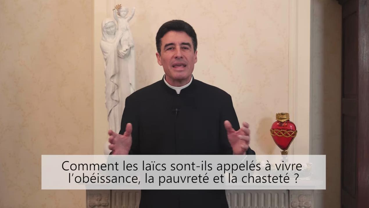 Deux minutes pour vous #60 – Père Michel-Marie Zanotti-Sorkine – «Comment les laïcs sont-ils appelés à vivre l'obéissance, la pauvreté et la chasteté?»