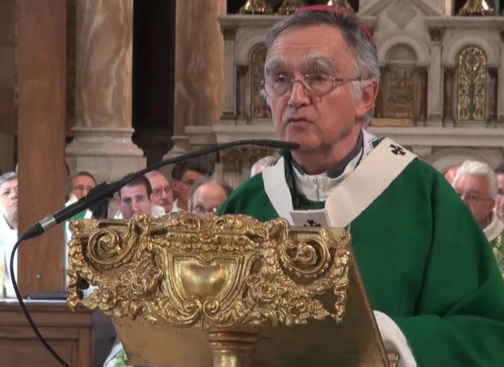 Messe d'action de grâces pour les 13 années d'épiscopat de Mgr Pontier le 30 juin 2019 à Marseille (13)