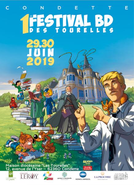 Festival de BD à Condette (62): première – les 29 & 30 juin 2019