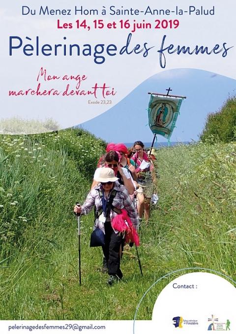 Pèlerinage des femmes du 14 au 16 juin 2019 du Menez Hom (29) à Sainte-Anne-la-Palud (29)