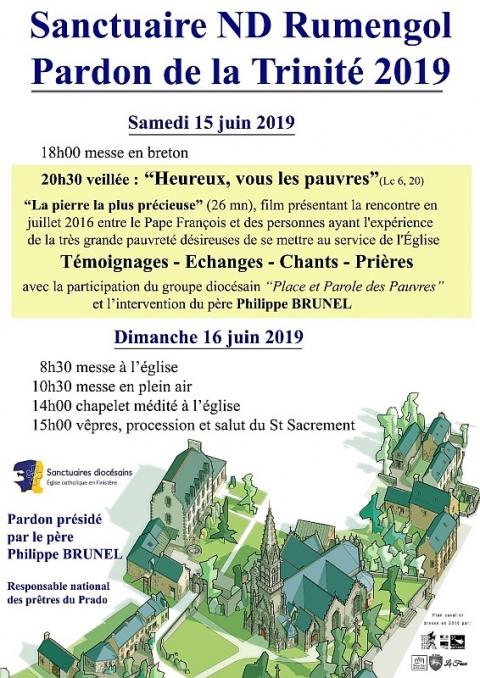Pardon de la Trinité les 15 & 16 juin 2019 au Sanctuaire Notre-Dame de Rumengol (29)
