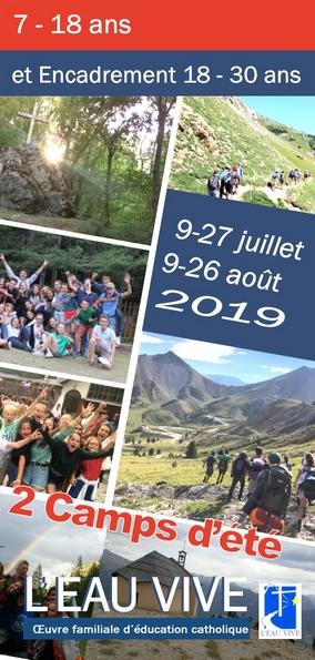 Camps d'été dans les Hautes-Alpes du 9 au 27 juillet ou du 9 au 27 août 2019 à Briançon (05)