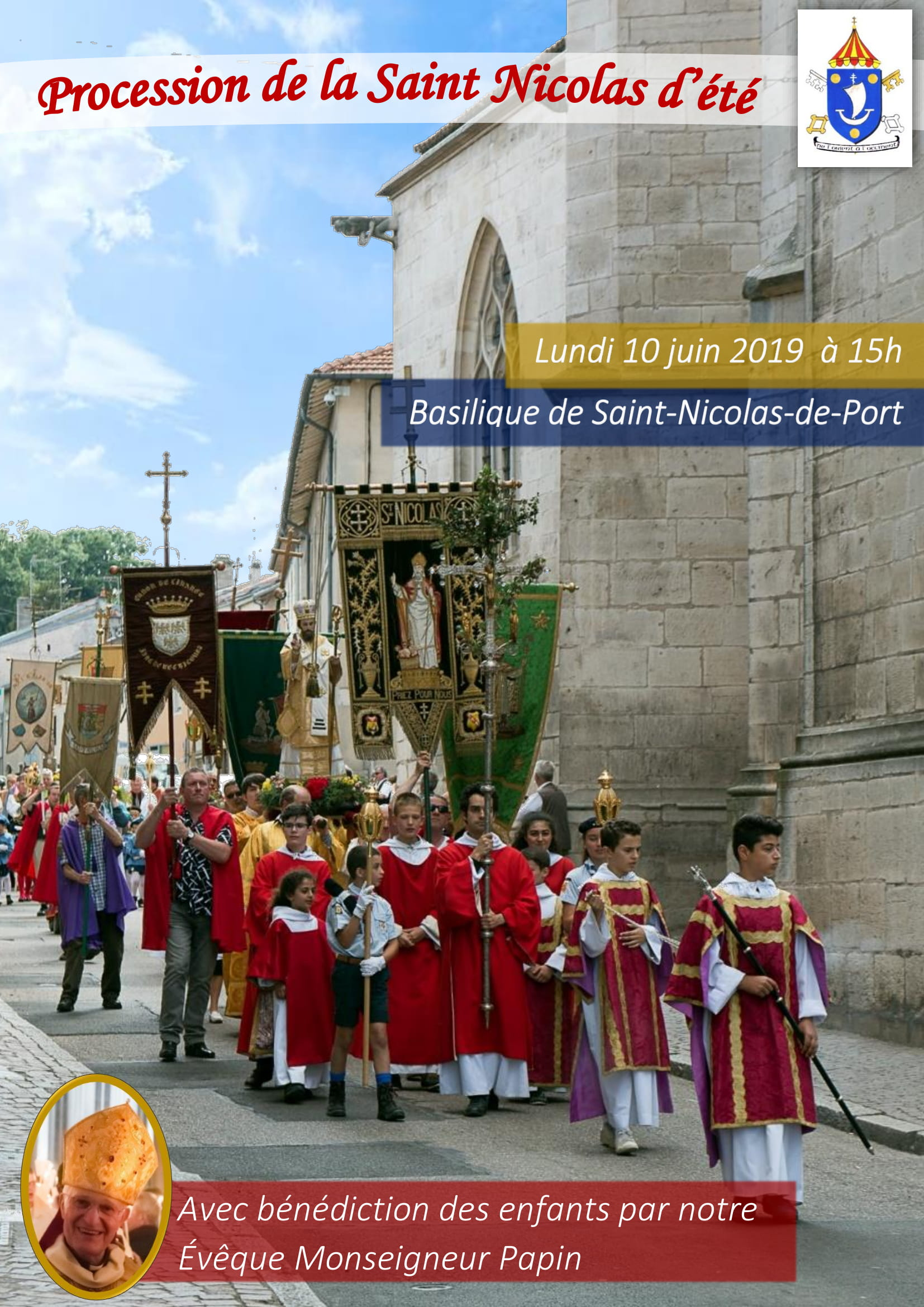 Saint Nicolas d'été le 10 juin 2019 à Saint-Nicolas-de-Port (54)