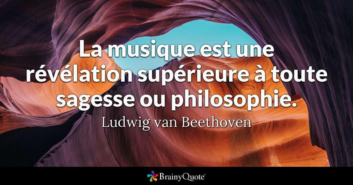 La IXème de Beethoven n'est pas une hymne à la fraternité, mais à l'espérance divine