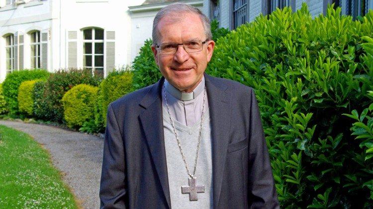 Mgr Pierre Warin, nouvel évêque de Namur