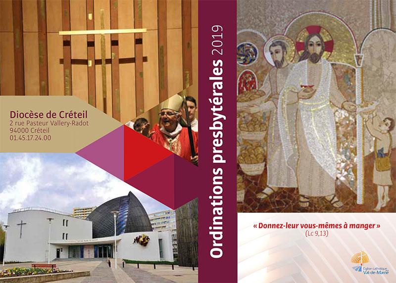Ordinations presbytérales le 23 juin 2019 à Créteil (94)