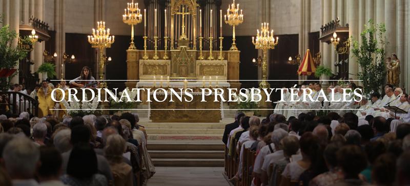 Ordinations presbytérales le 30 juin 2019 à Montpellier (34)