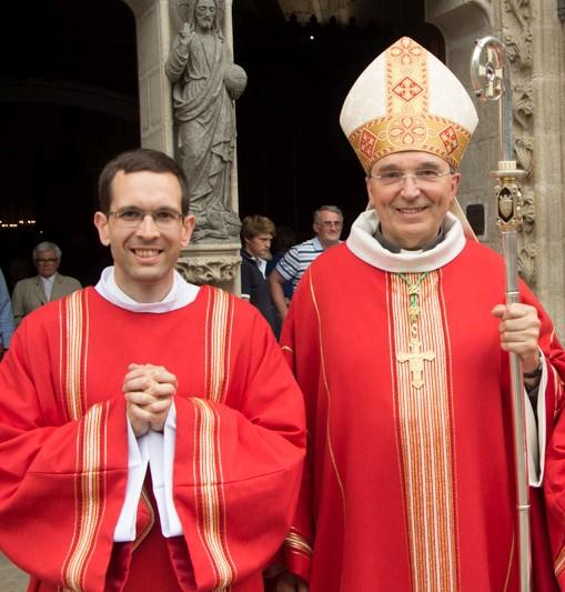 Ordination de Cyriaque Danguy Des Déserts le 23 juin 2019 à Quimper (29)