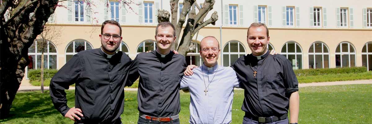Quatre ordinations sacerdotales le 29 juin 2019 à Lyon (69)