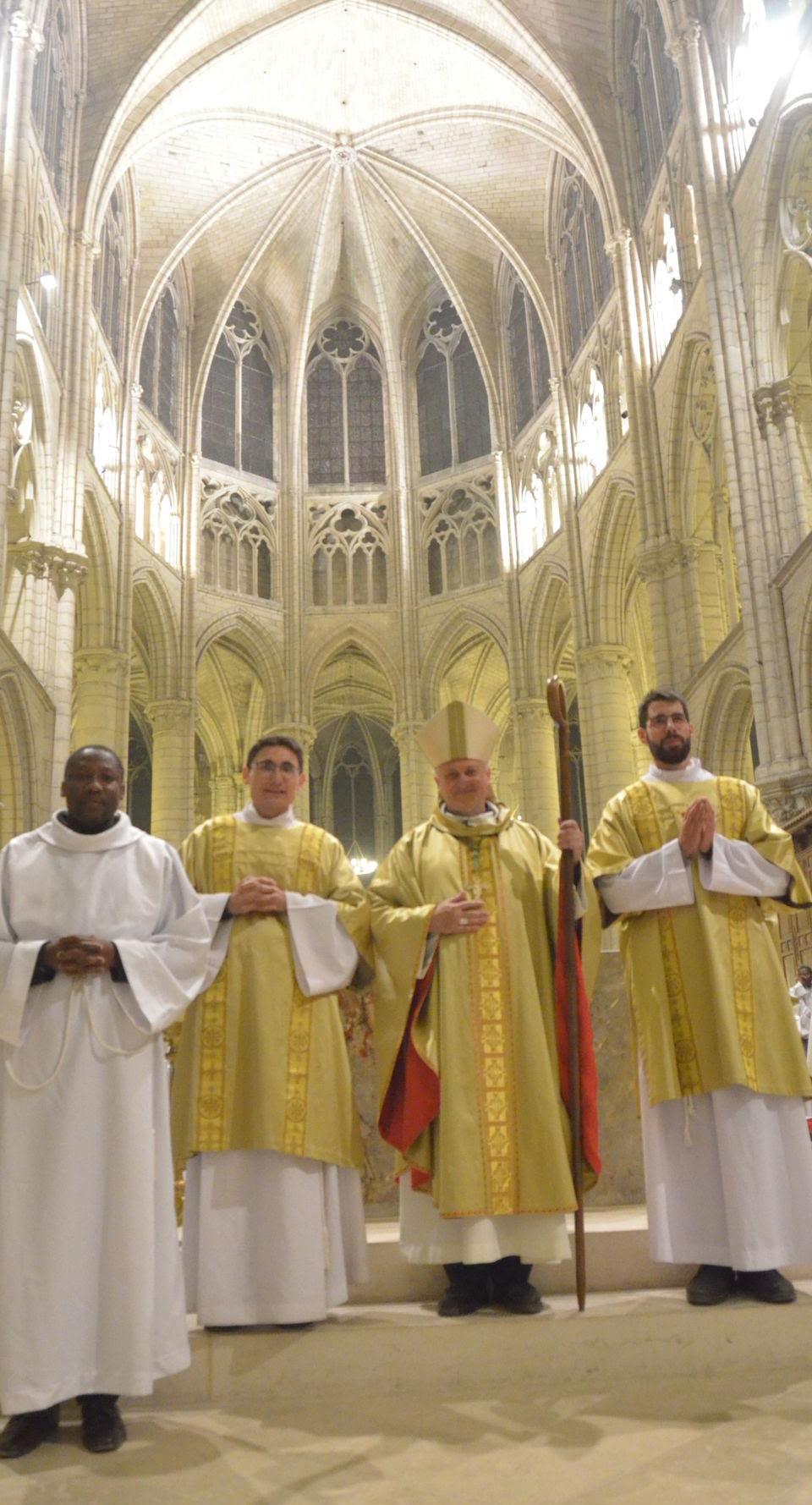 Ordinations le 23 juin 2019 à Meaux (77)