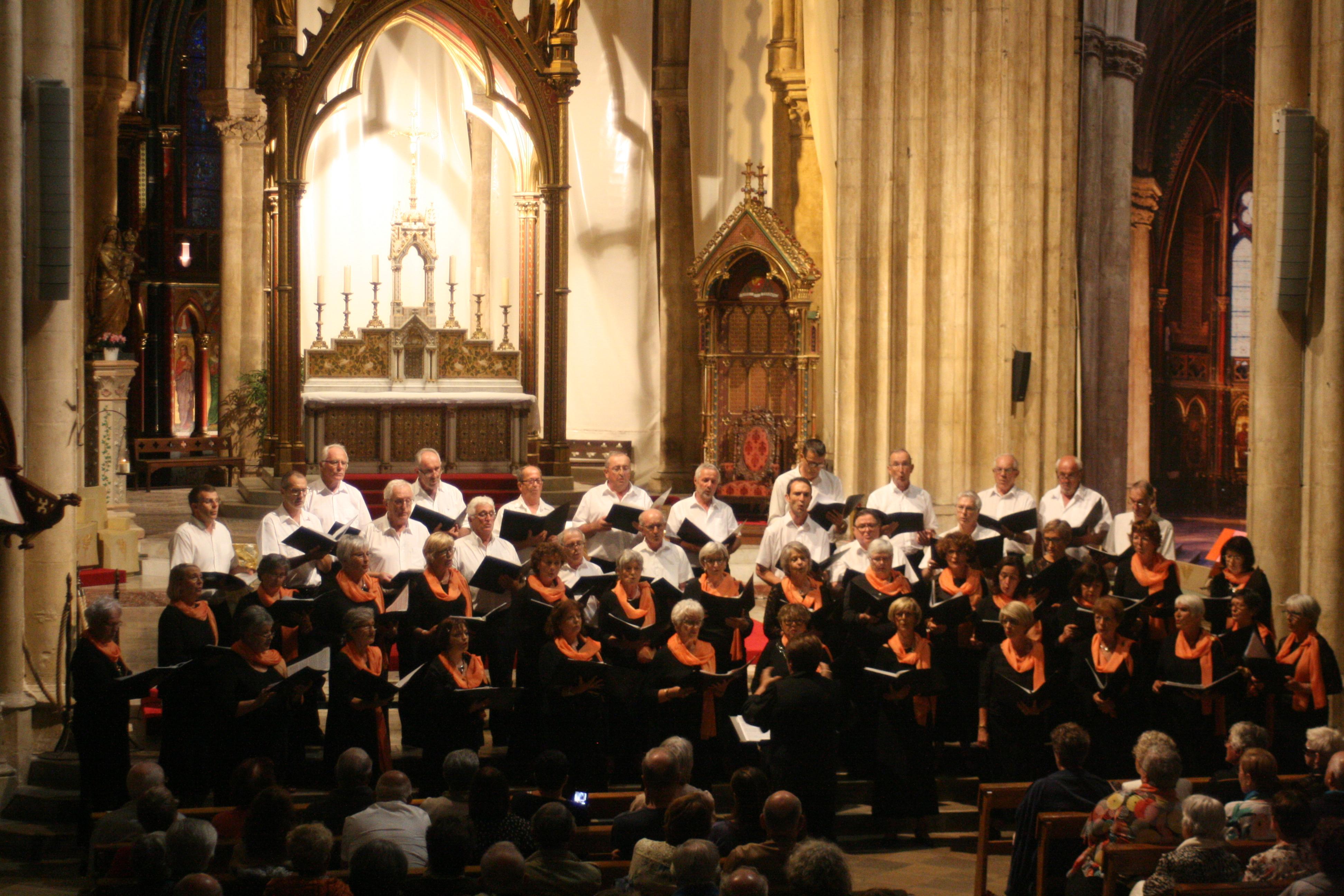 Choeur XARAMELA en concert à Ondres (40) le 16 juillet 2019