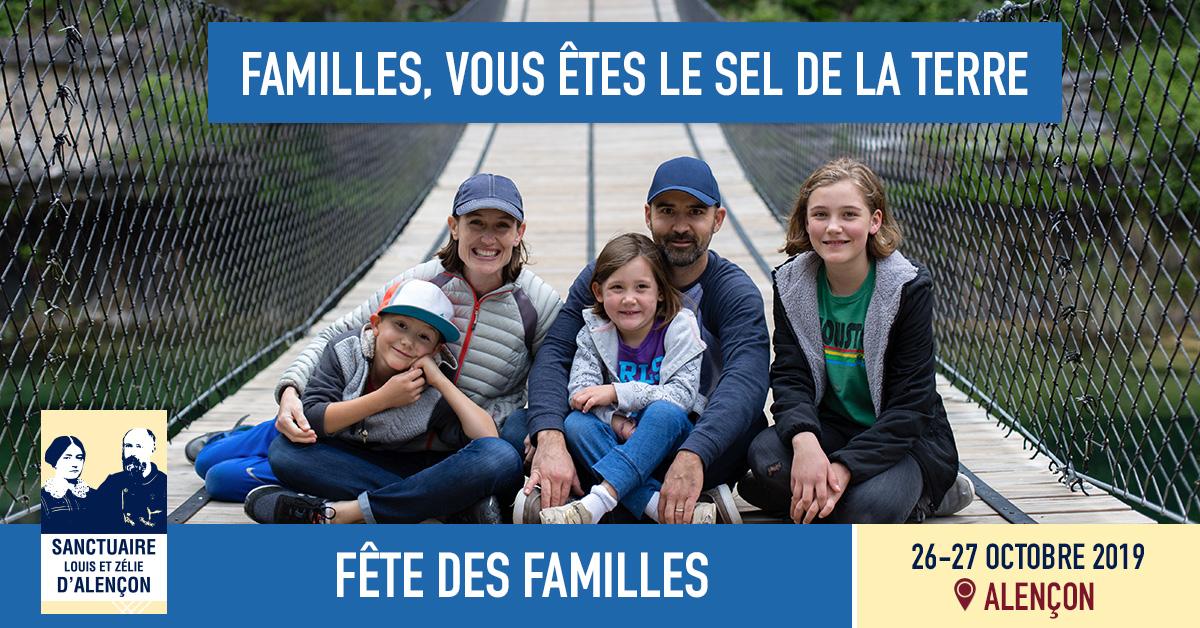 Fête des familles le 26 octobre 2019 à Alençon (61)