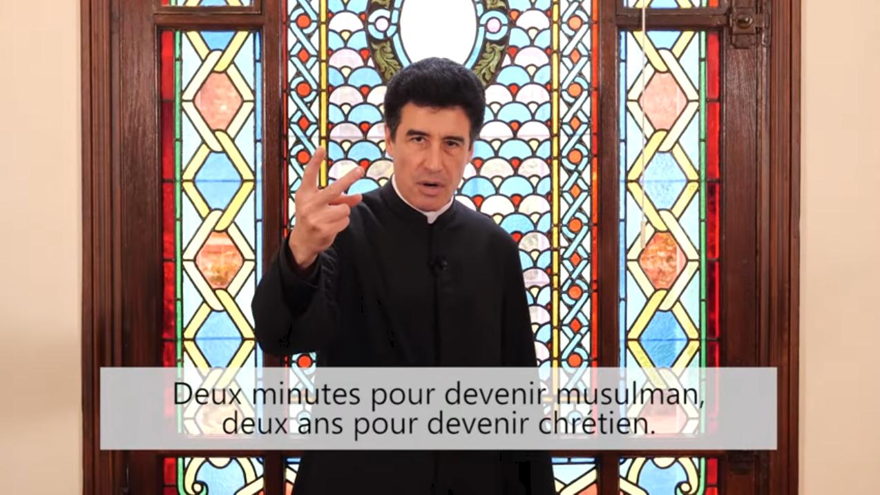 Deux minutes pour vous #64 – Père Michel-Marie Zanotti-Sorkine – «Deux minutes pour devenir musulman, deux ans pour devenir chrétien»