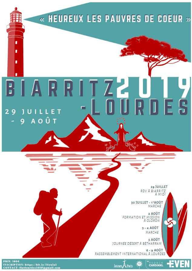 Open Source FIAT: route de Biarritz (64) à Lourdes (65) du 29 juillet au 9 août 2019