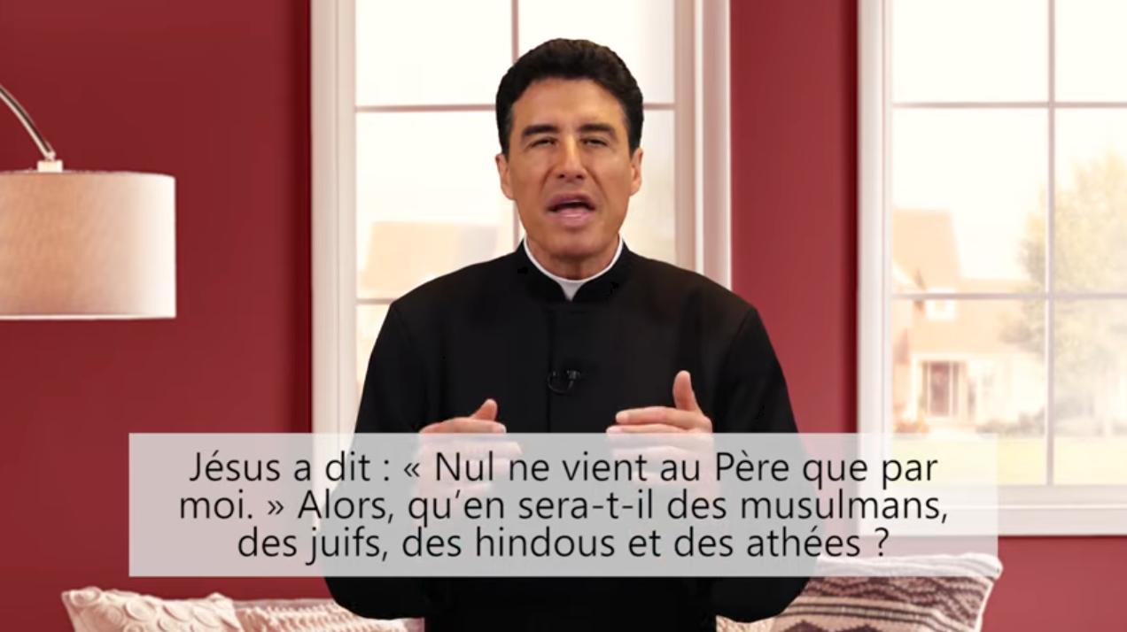 Deux minutes pour vous #67 – Père Michel-Marie Zanotti-Sorkine – «Jésus a dit: «Nul ne vient au Père que par moi.» Alors, qu'en sera-t-il des musulmans, des juifs, des hindous et des athées?»