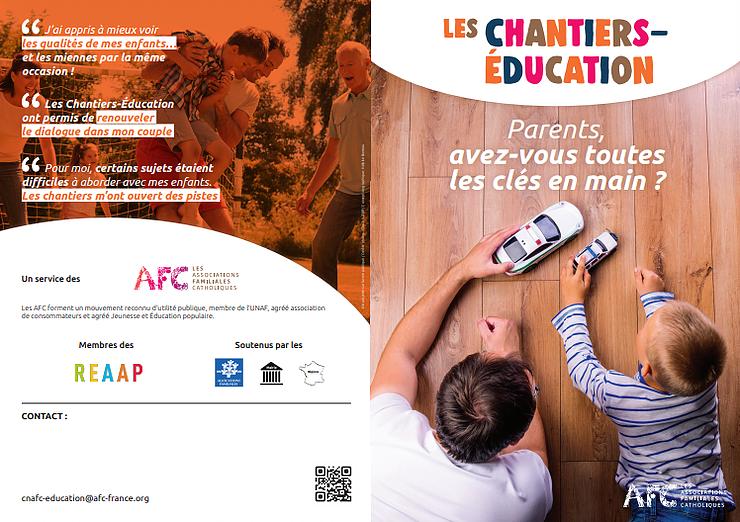 Chantiers-éducation à Auxerre (89) organisés par les AFC à la rentrée