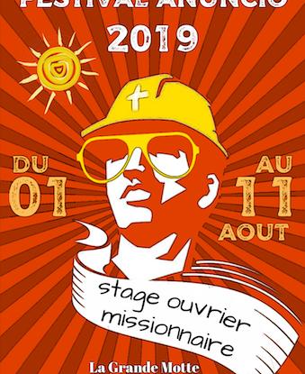 Festival Anuncio du 1er au 11 août 2019 à La Grande Motte (34)