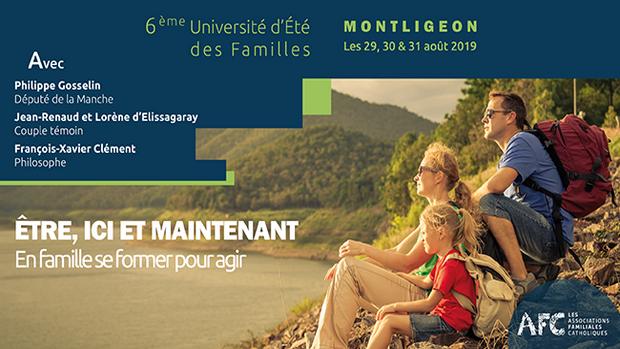 Université d'été des familles les 29, 30 & 31 août 2019 au Sanctuaire de Montligeon (61)