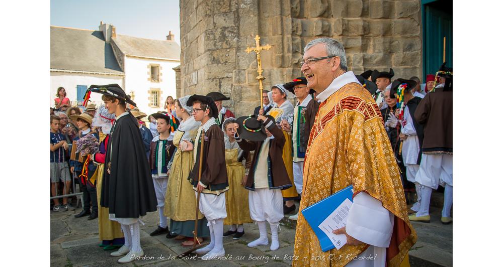 Les cent ans du Pardon de Saint Guénolé à Batz-sur-Mer (44) le 11 août 2019