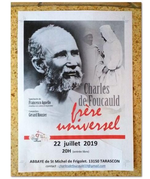 Un frère universel: Charles de Foucauld – Spectacle le 22 juillet à l'Abbaye Saint Michel de Frigolet (13)
