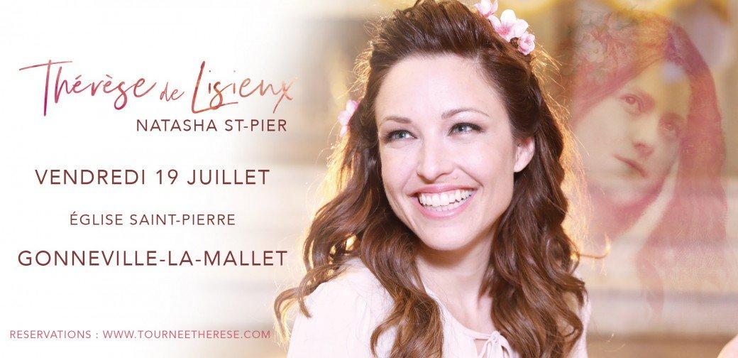 Concert de Natasha St-Pier le 19 juillet 2019 à l'église Saint-Pierre de Gonneville-La-Mallet (Etretat (76))