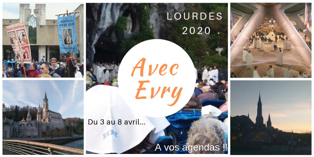 Pèlerinage à Lourdes (65) au service des malades avec l'Hospitalité d'Evry, du 3 au 8 avril 2020