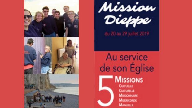 Mission Dieppe (76) du 20 au 30 juillet 2019