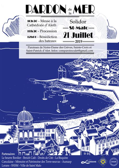 Pardon de la Mer le 21 juillet 2019 à Saint-Malo (35)