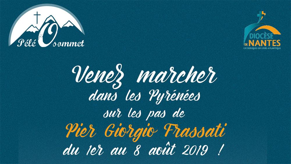 Pélé Ô Sommet, pélé dans les Pyrénées pour les jeunes de 18 à 30 ans du 1er au 8 août 2019 de La Sarra (Espagne) à Lourdes (65)