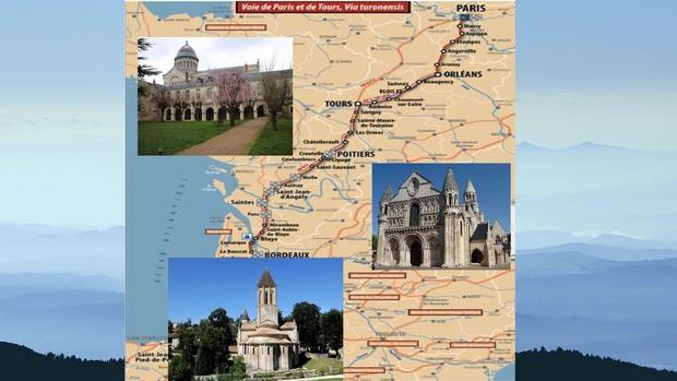 Pèlerinage entre Tours (37) et Saint-Jean d'Angely (17) (organisé par l'Association Rouen-Saint-Jacques de Compostelle) du 28 juillet au 8 août 2019