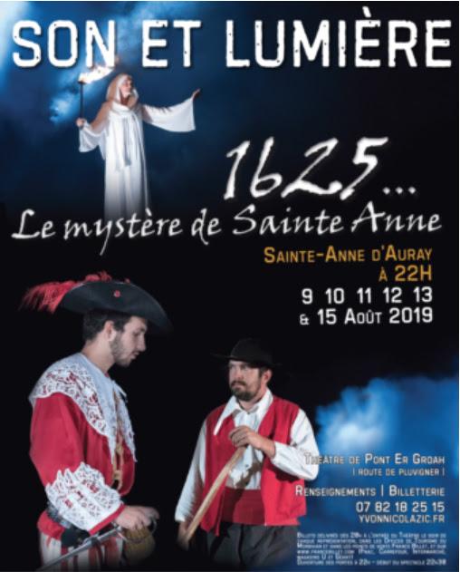 Le mystère de sainte Anne – Son & Lumière du 9 au 15 août 2019 à Sainte-Anne-d'Auray (56)