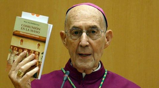 Décès de Mgr Juan Rodolfo Laise