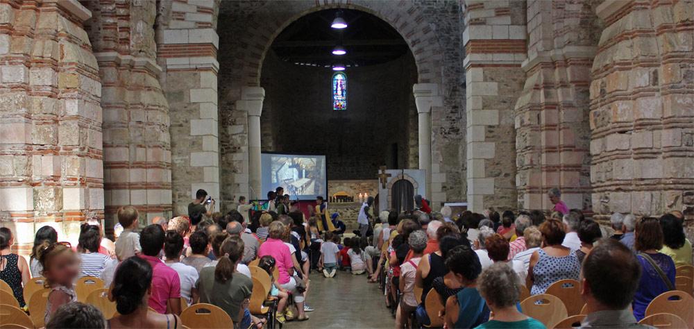 Fête de Saint Philibert à l'abbatiale de Saint-Philbert-de-Grandlieu (44) les 17 & 18 août 2019