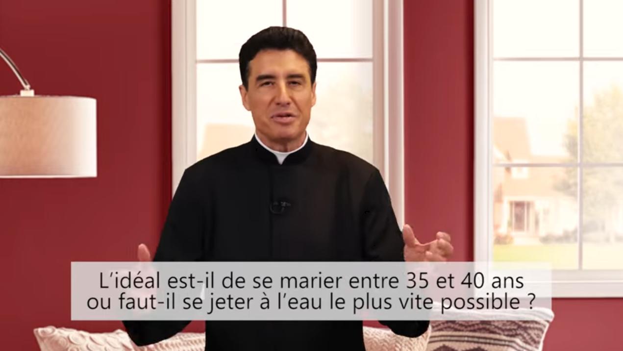 Deux minutes pour vous #68 – Père Michel-Marie Zanotti-Sorkine – «L'idéal est-il de se marier entre 35 et 40 ans ou faut-il se jeter à l'eau le plus vite possible?»