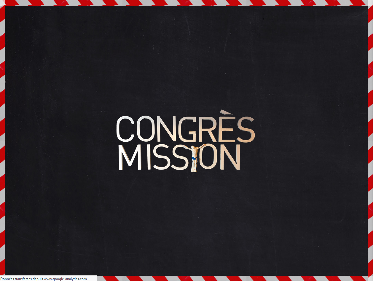 Congrès Mission du 27 au 29 septembre 2019 à Paris