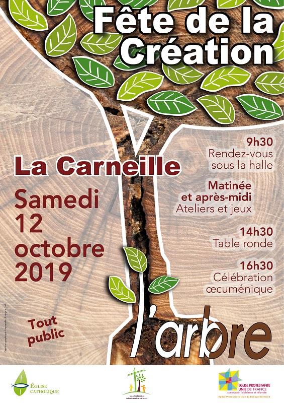 Fête de la création le 12 octobre 2019 à La Carneille (61)