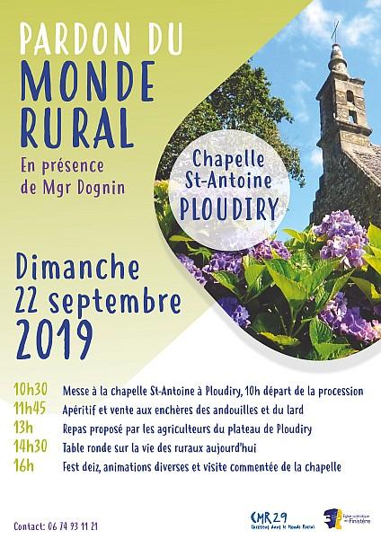 Pardon du monde rural le 22 septembre 2019 à Ploudiry (29)