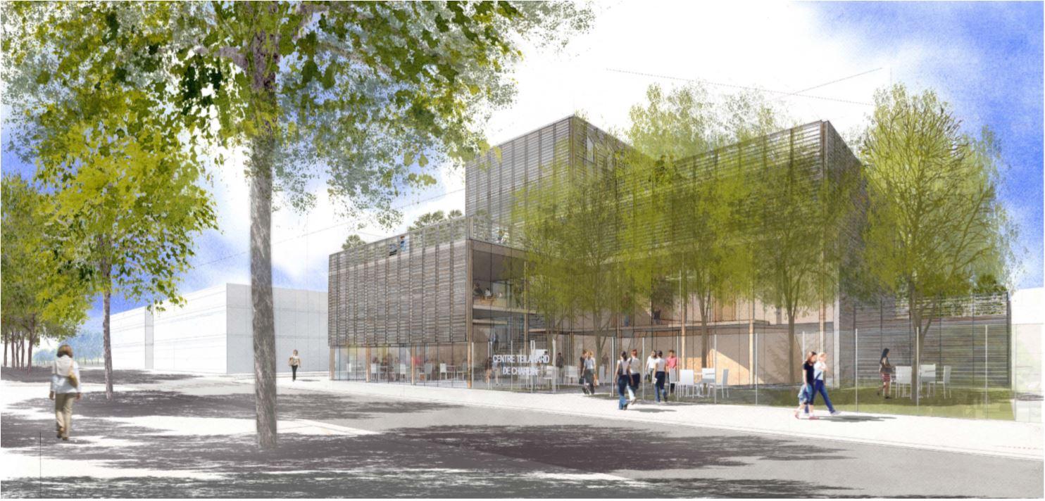 Présentation du futur Centre Teilhard de Chardin à Saclay