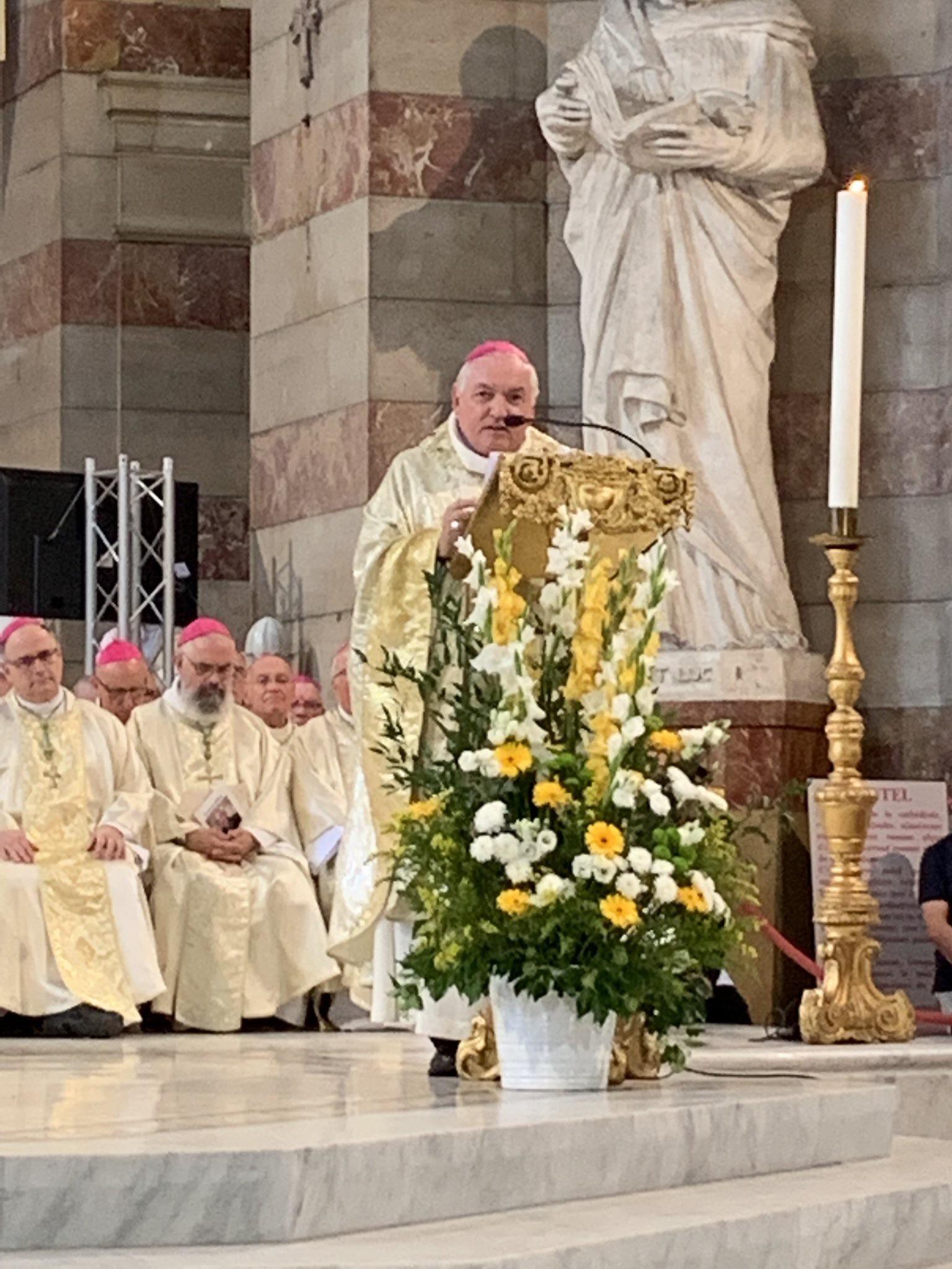 Installation de Mgr Jean-Marc Aveline, nouvel archevêque de Marseille