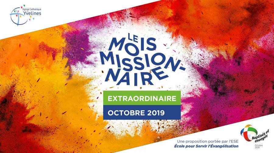 Le mois missionnaire – diocèse de Versailles durant le mois d'octobre 2019