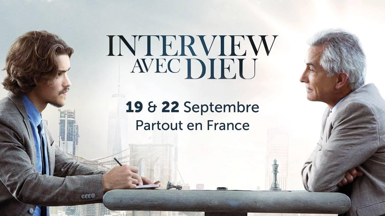 """Projection du film """"Interview"""" avec Dieu""""  le 22 septembre 2019 à Saint-Jean-de-Luz (64)"""
